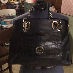 Versace 19V69 Reptile Accent Tote. Make an offer!